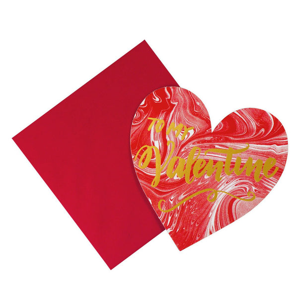 The Social Type To My Valentine Card - GREER Chicago Online Stationery Shop