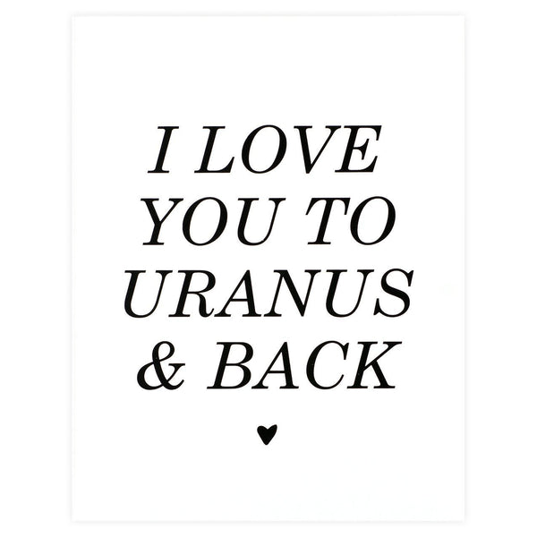 To Uranus And Back Card By The Paper Cub - 1
