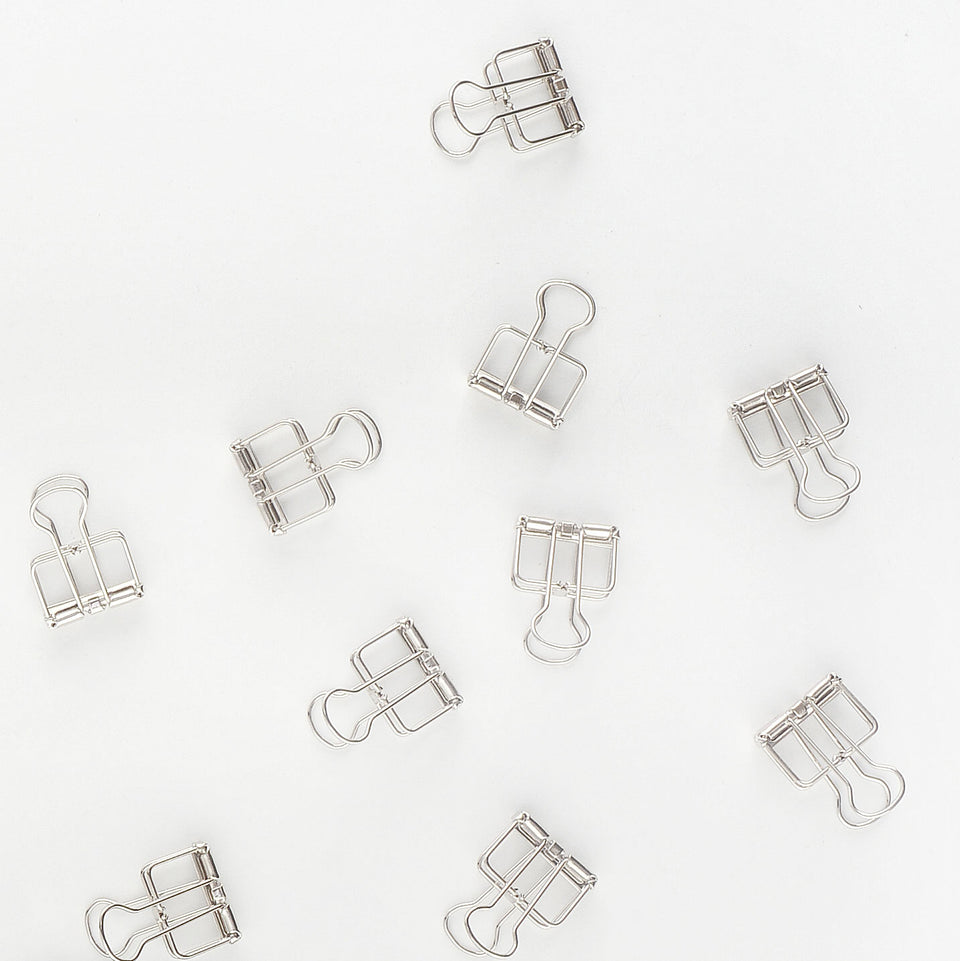 TOOLS to LIVEBY Tools To LiveBy Binder Clips 19mm | Silver Or Gold Silver