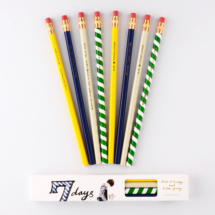 TTLB x Vita Yang 7 Days 7 Boys Pencil Set
