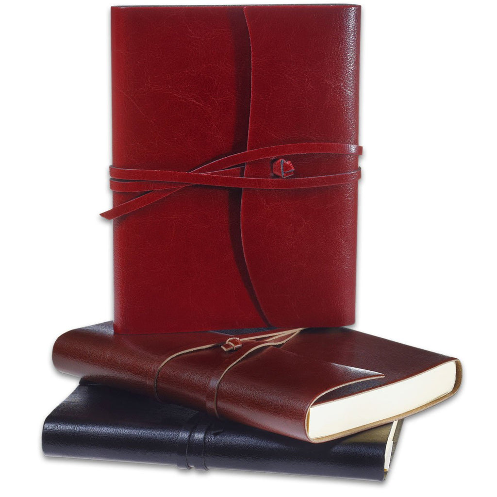 Toscana Hardbound Bonded Leather Journal Black By Cavallini - 3