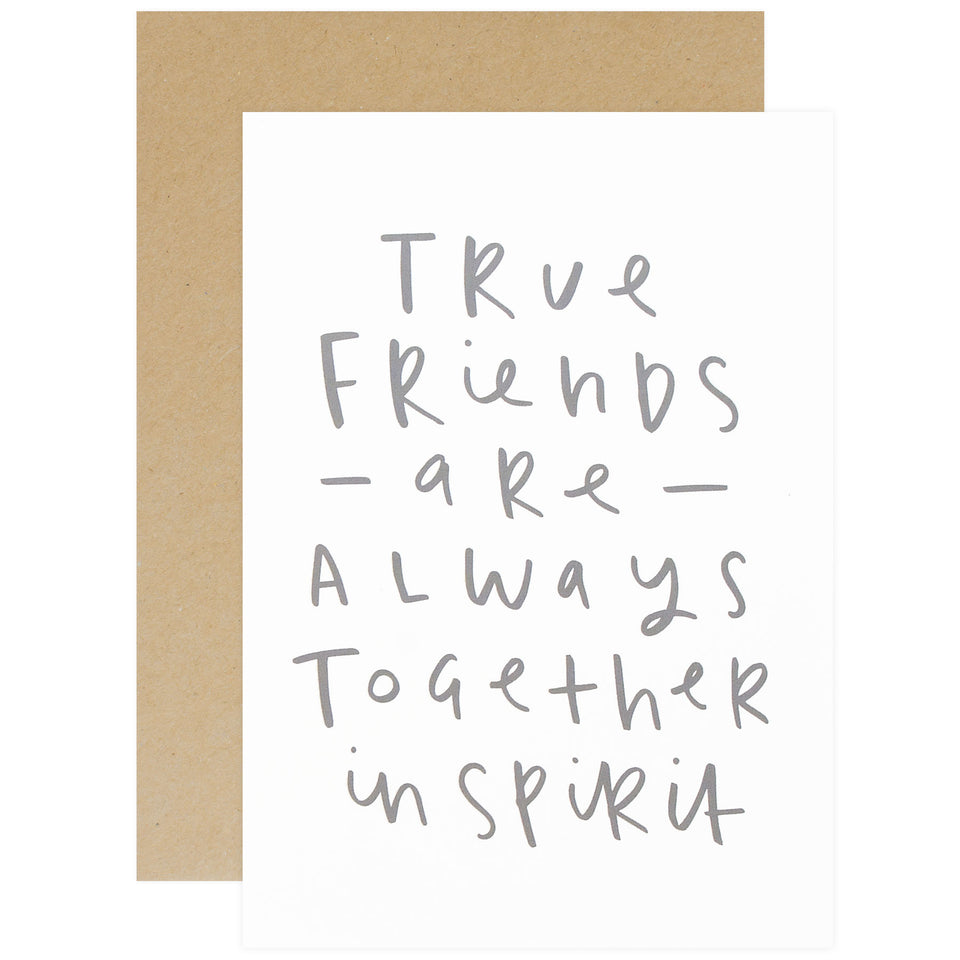 Old English Company True Friends Greeting Card