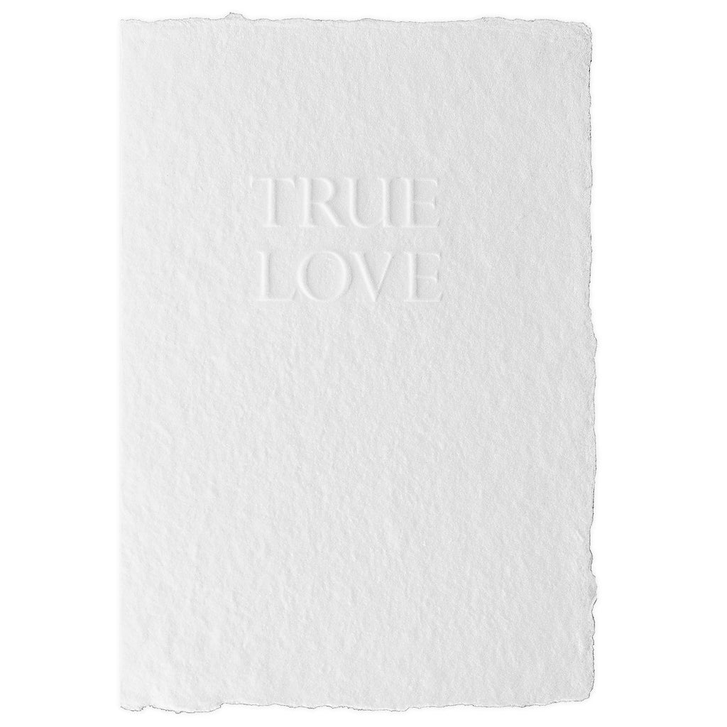 Handmade Paper True Love By Oblation Papers & Press