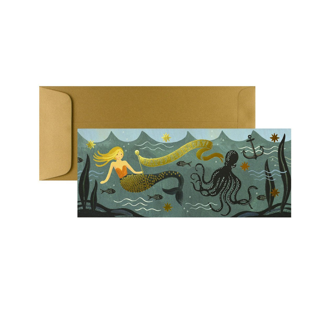 Rifle Paper Co. Under The Sea Birthday Card - GREER Chicago Online Stationery Shop