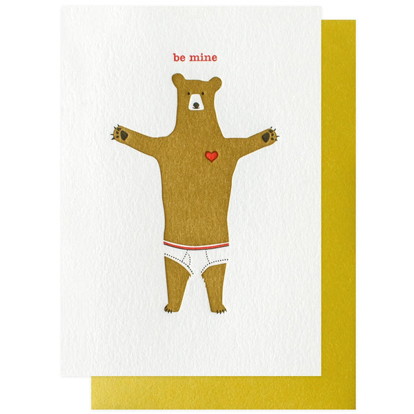 Underwear Bear - GREER Chicago Online Stationery