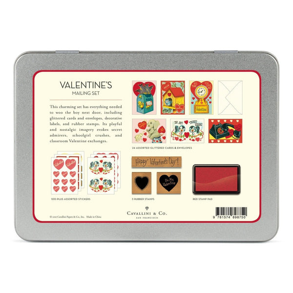 Valentine's Day Mailing Set By Cavallini - 1