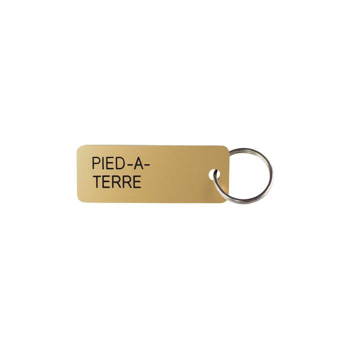 Various Projects Pied A Terre Key Tag