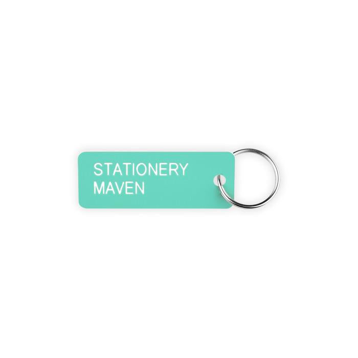 Various Projects Stationery Maven Key Tag