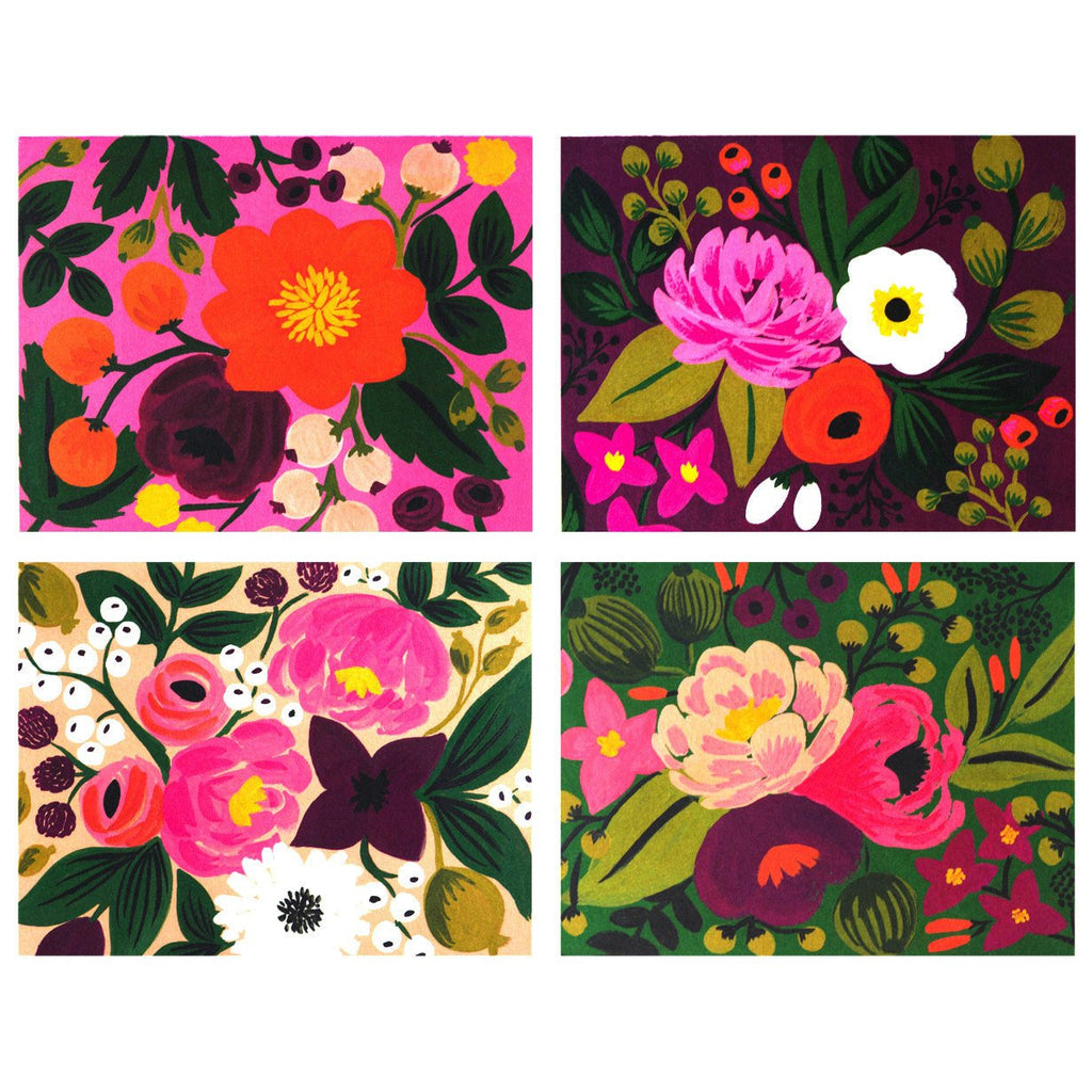 Vintage Assorted Blooms - GREER Chicago Online Stationery