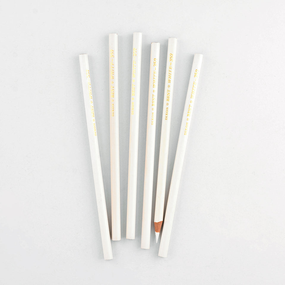 Vintage Dixon Best White 352 Vintage Color Pencil