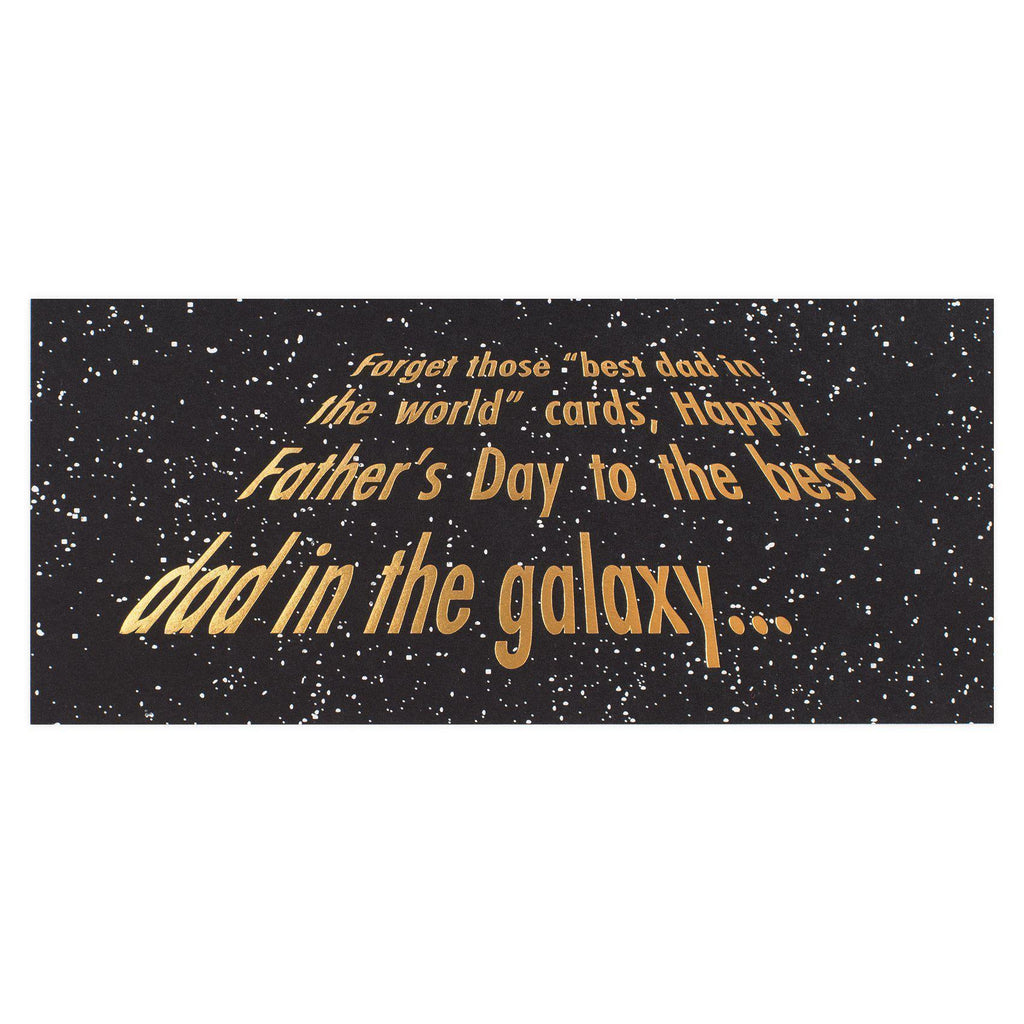 Wild Ink Press Galaxy Dad Father's Day Card