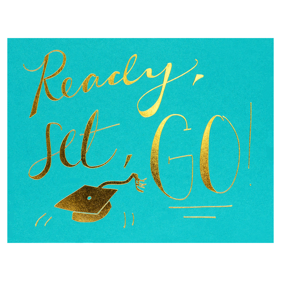 Wild Ink Press Ready, Set, Go! Graduation Card