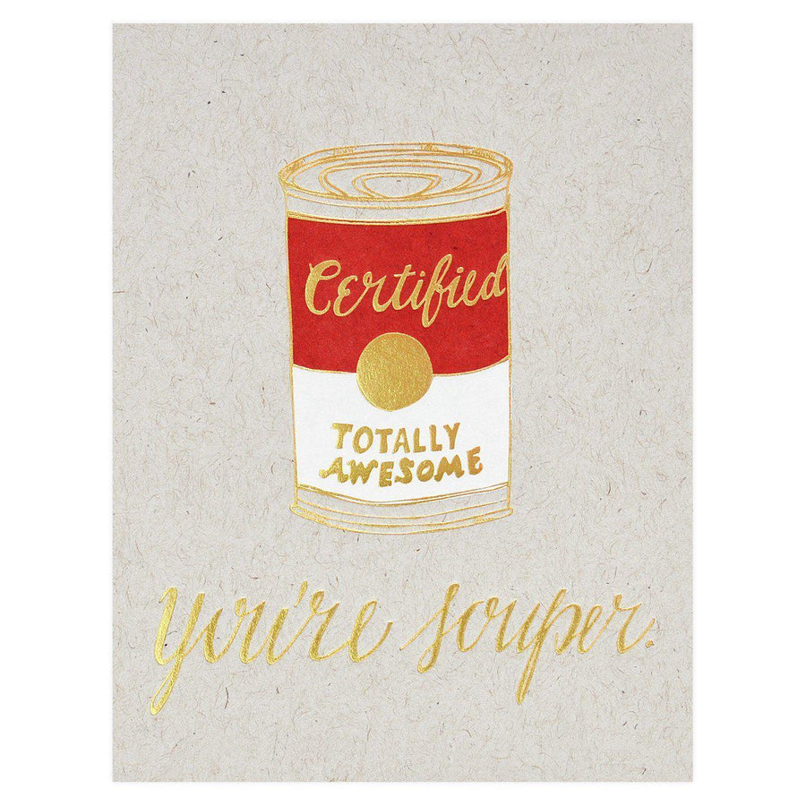 Wild Ink Press Souper Greeting Card - GREER Chicago Online Stationery Shop