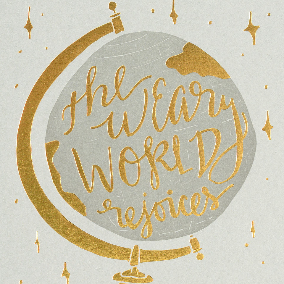 Wild Ink Press Weary World Christmas Cards Boxed or Single
