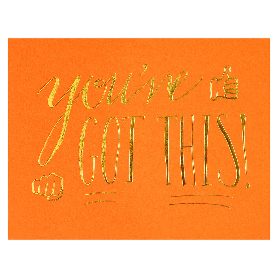 Wild Ink Press You've Got This Greeting Card