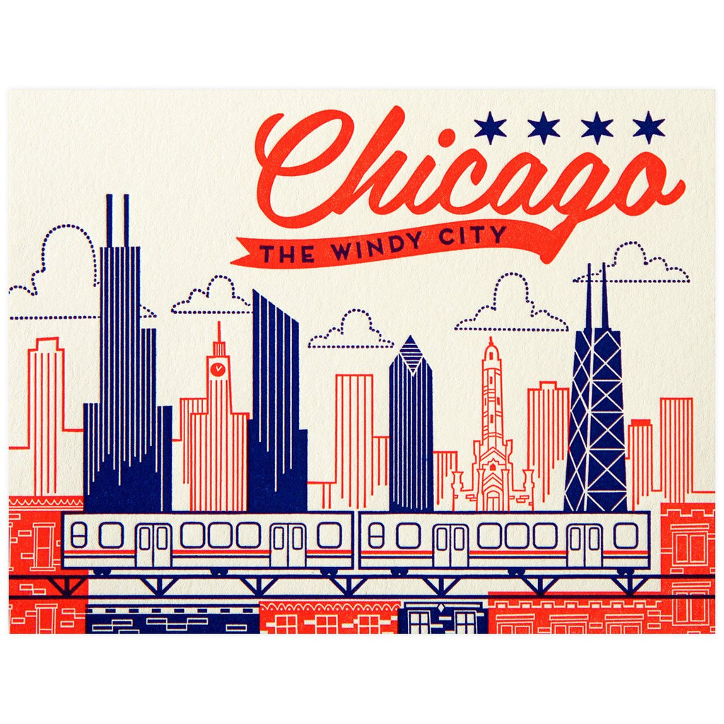 Windy City - GREER Chicago Online Stationery