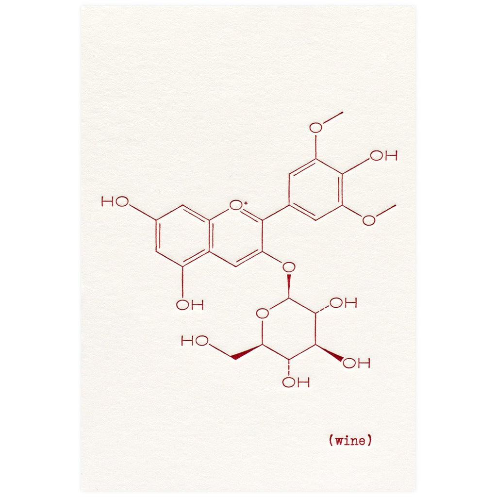 Wine Molecule - GREER Chicago Online Stationery
