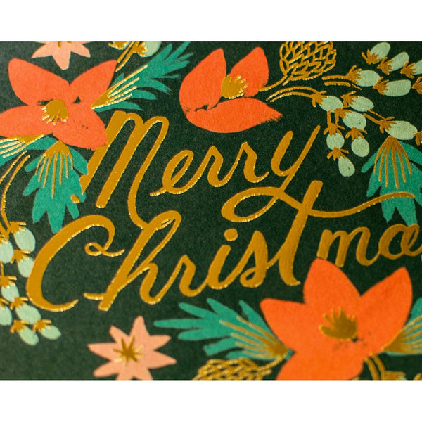 Rifle Paper Co. Wintergreen Christmas Boxed Cards By Rifle Paper Co. - 1