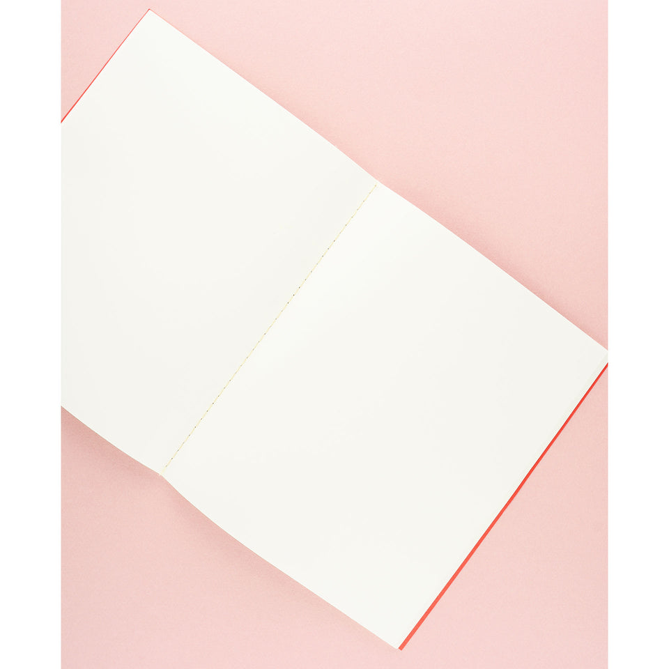 Wit & Delight Wit & Delight Classic Notebook Red & Pink
