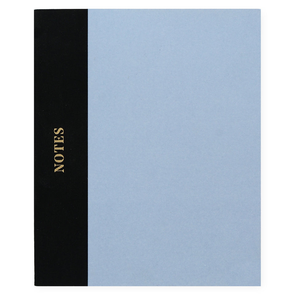 Wit & Delight Wit & Delight Classic Notebook Light Blue & Black