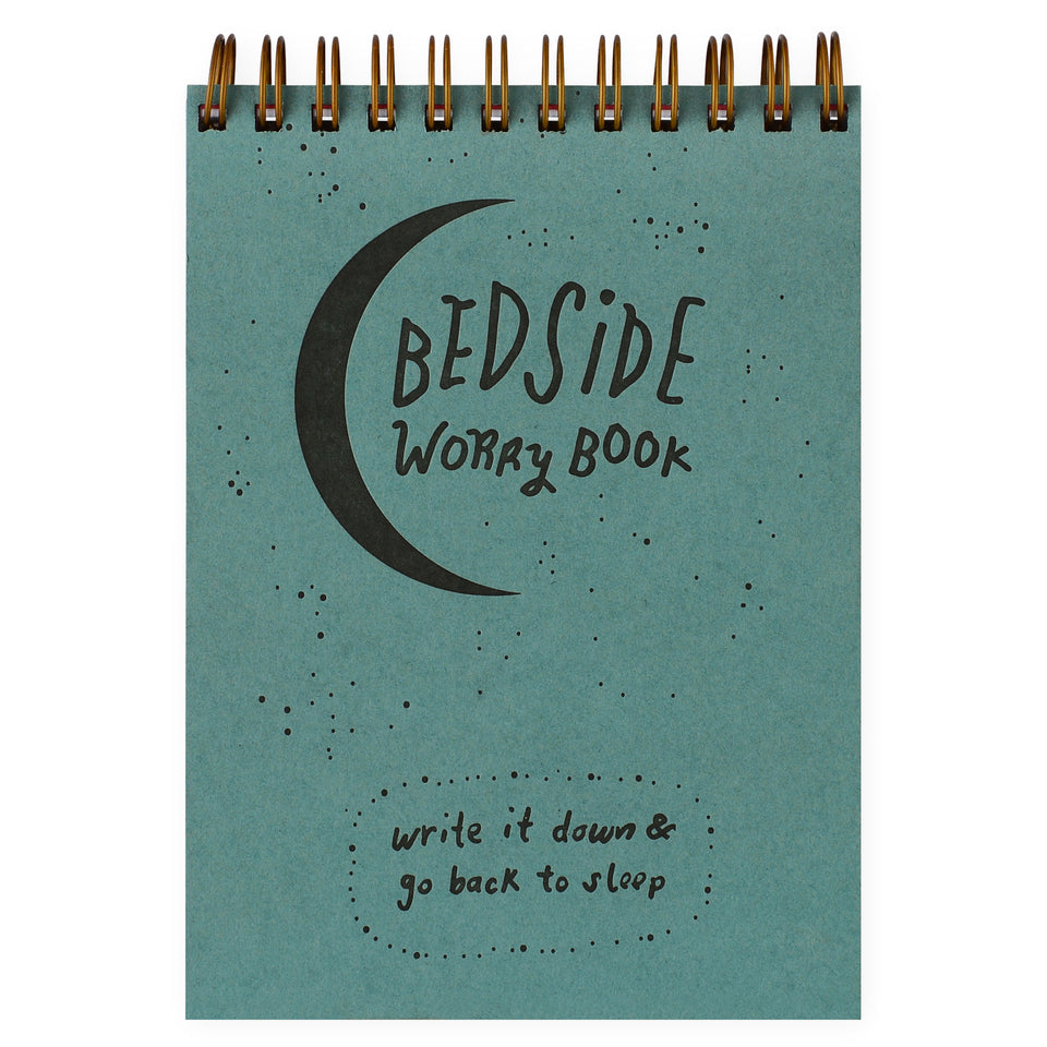 Wolf & Wren Press Bedside Worry Book