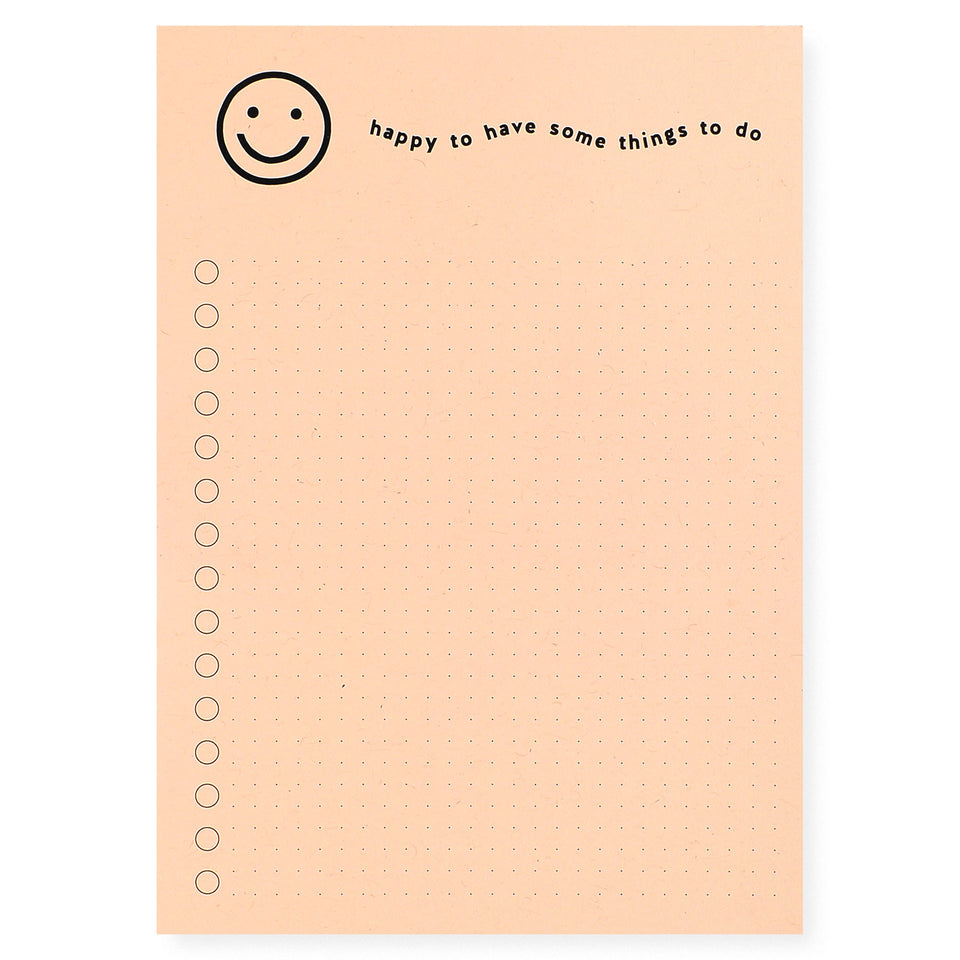 Worthwhile Paper Happy Notepad