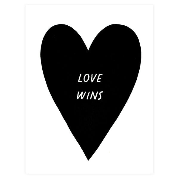Love Wins Greeting Card By Worthwhile Paper
