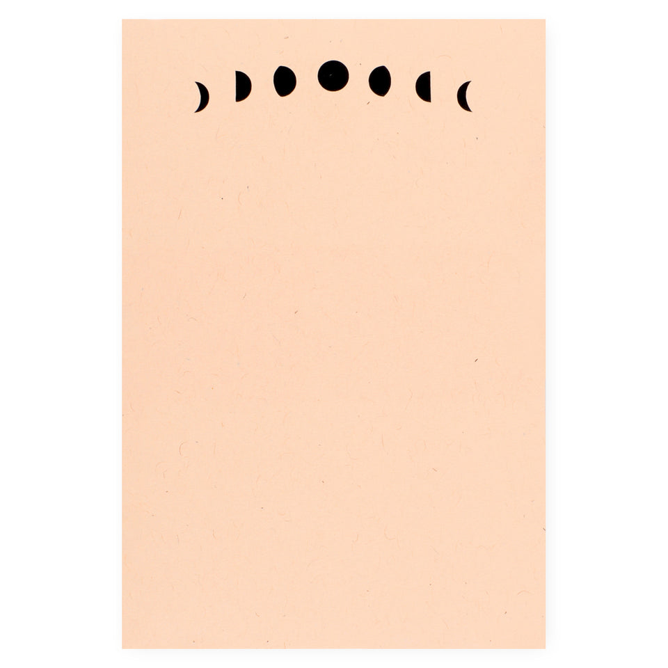 Worthwhile Paper Moon Phases Notepad