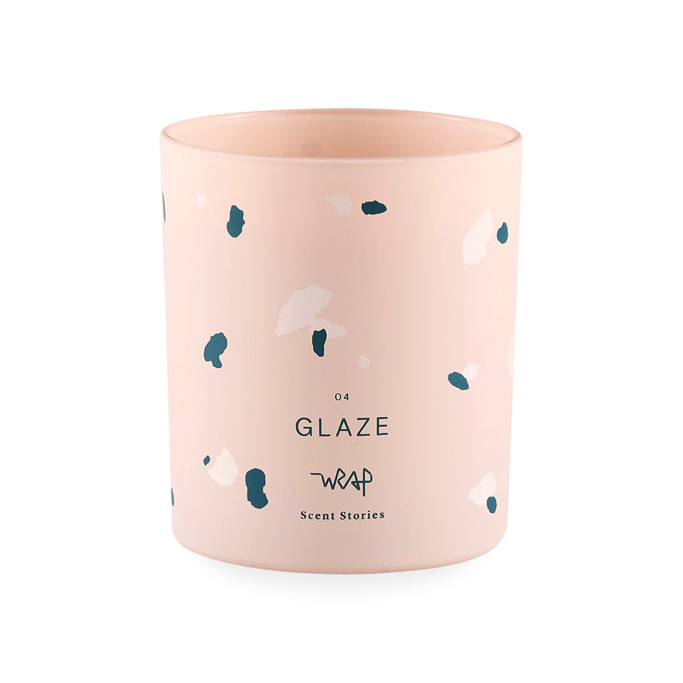 "Wrap ""Glaze"" Scented Candle 