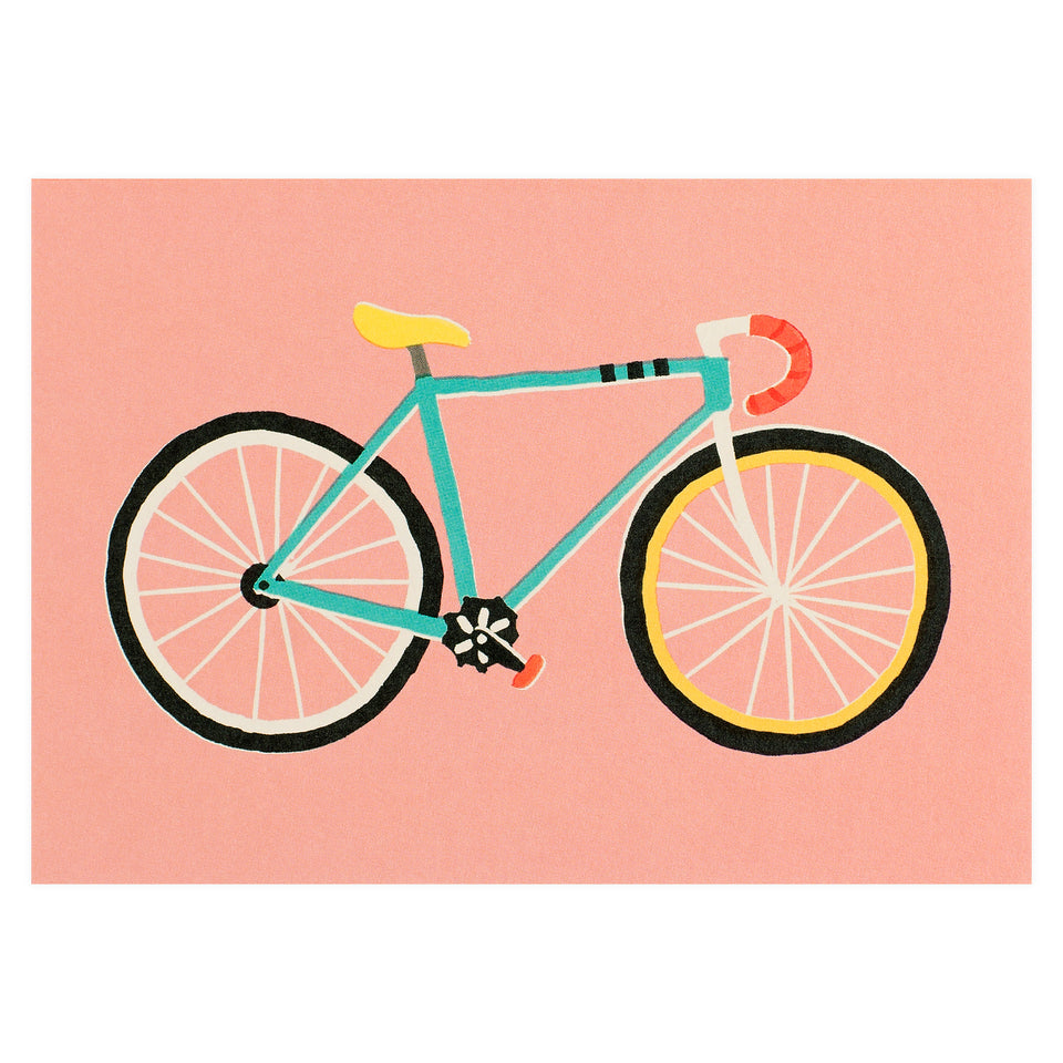 Wrap City Bike Greeting Card