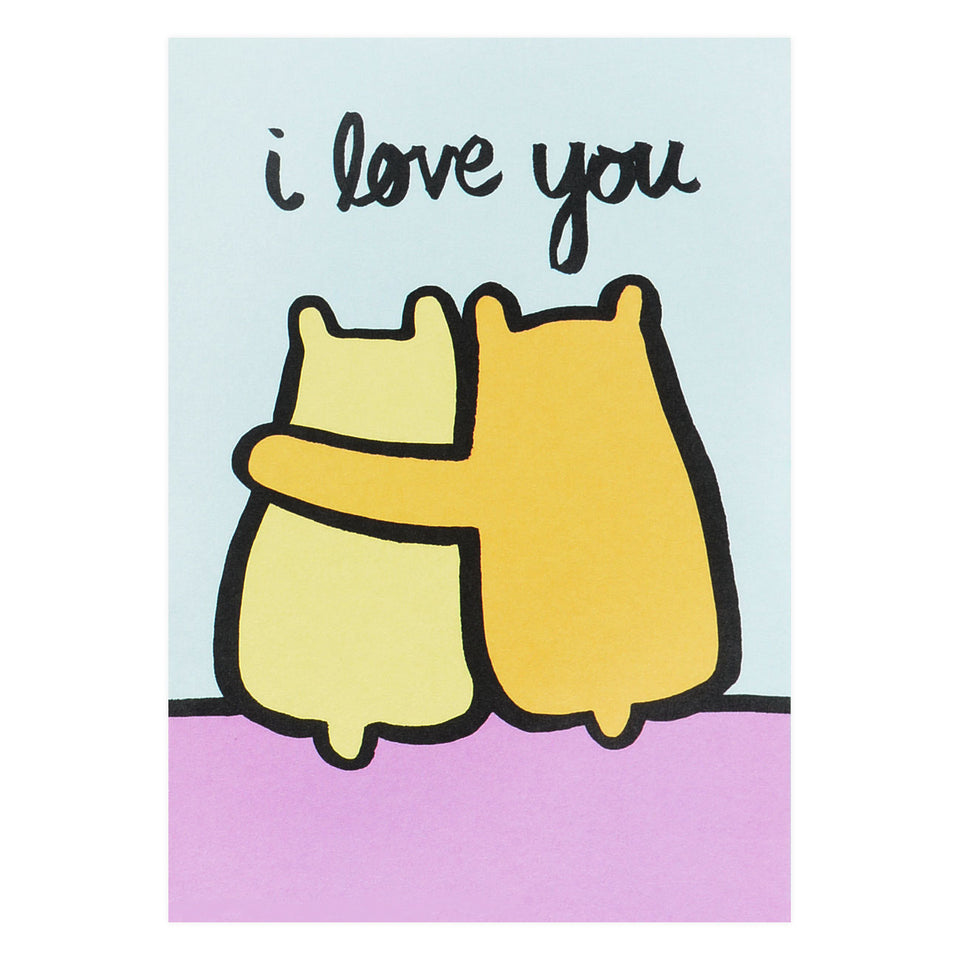 Wrap Love You Bears Greeting Card