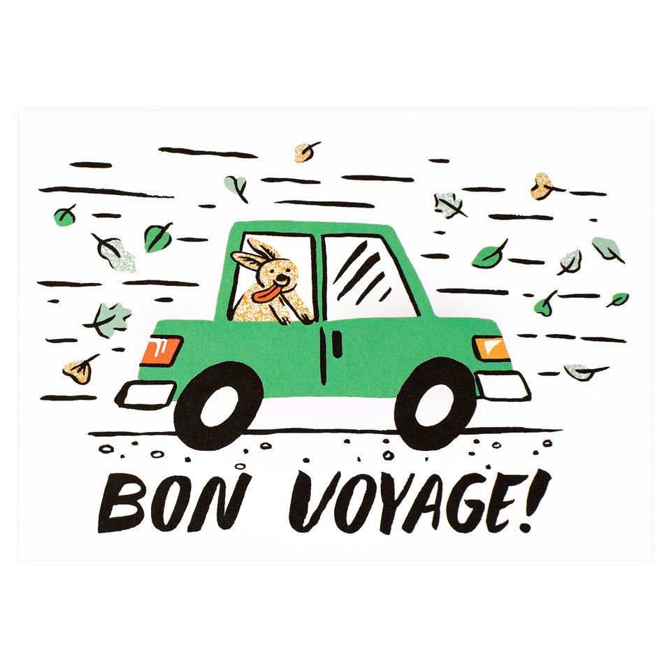 Wrap Bon Voyage Greeting Card