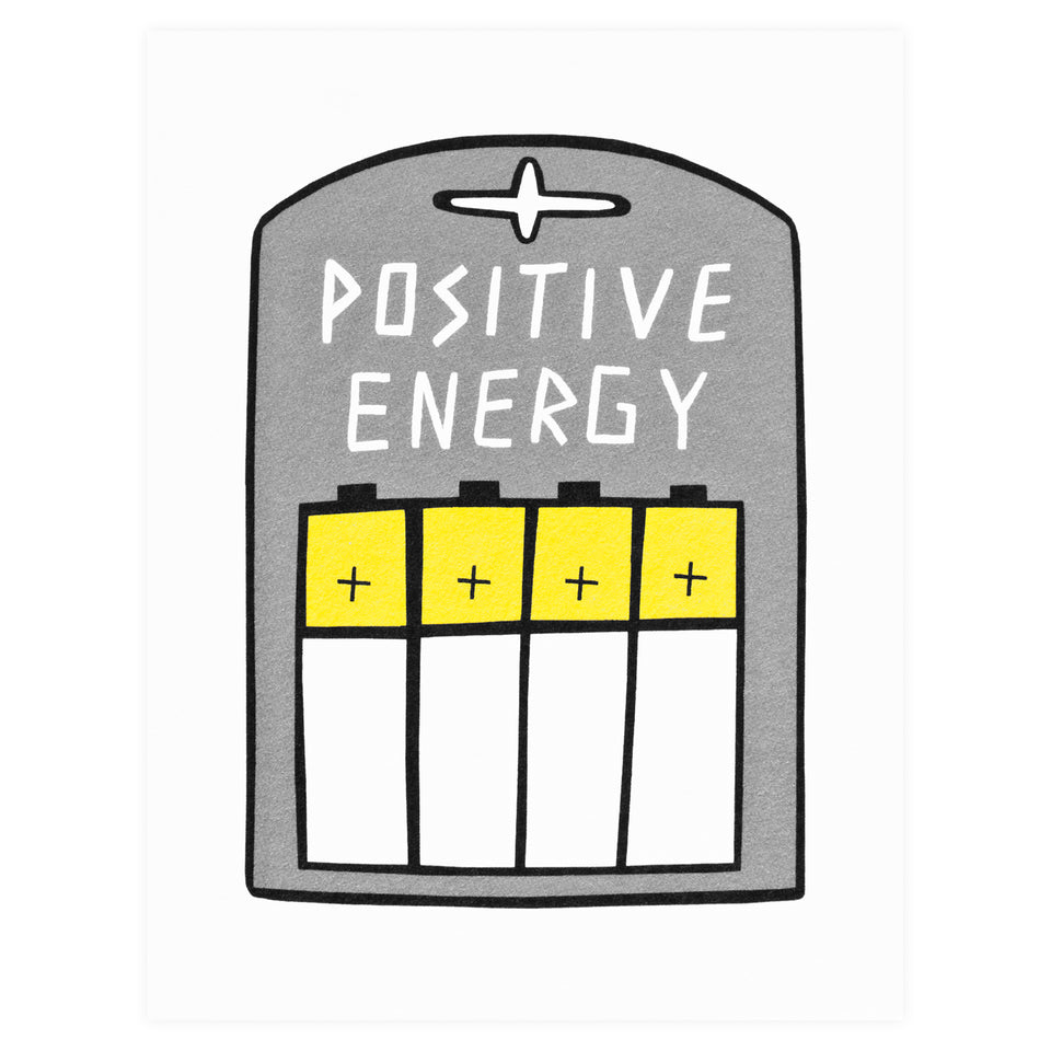 Wrap Positive Energy Greeting Card