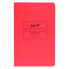 Paper Journal Colors Series | In Three Colors Write Notepads & Co. Strawberry Pink - GREER Chicago
