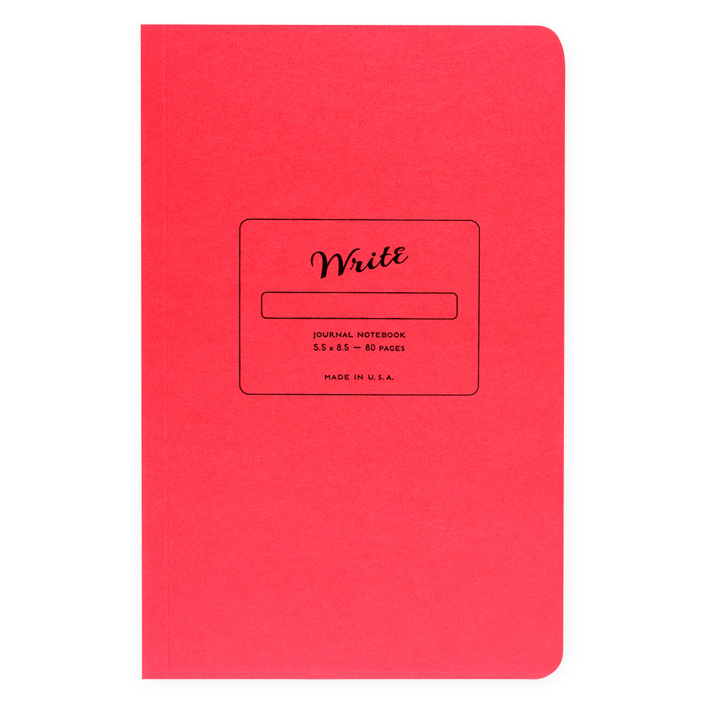 Write Notepads & Co. Paper Journal Colors Series | 3 Colors Strawberry Pink