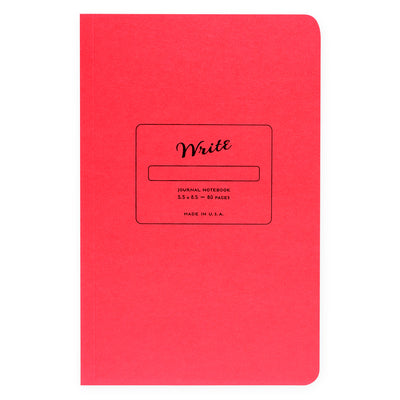 Write Notepads & Co. Paper Journal Colors Series | In Three Colors Strawberry Pink