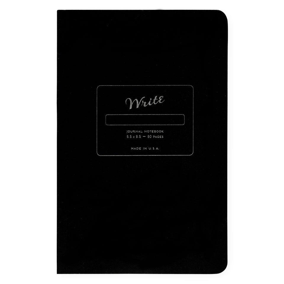 Write Notepads & Co. Paper Journal Colors Series | 3 Colors Carbon Black