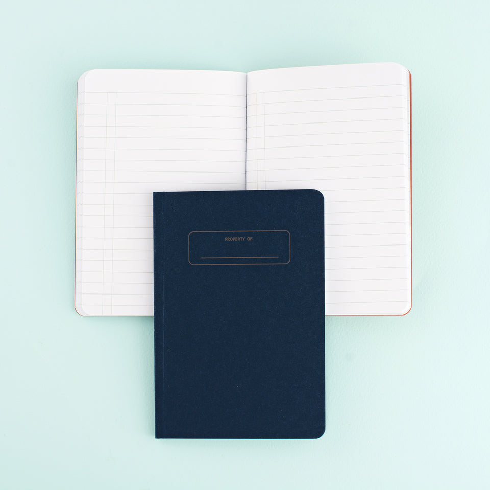 Write Notepads & Co. Pocket Notebooks Set of 3 | Ruled, Grid & Blank