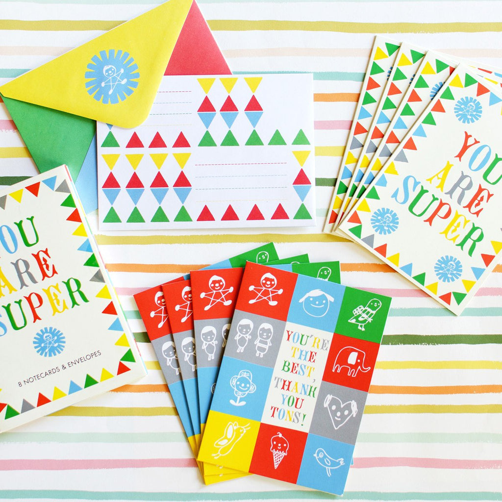 You Are Super Folded Note Cards By The Small Object - 1