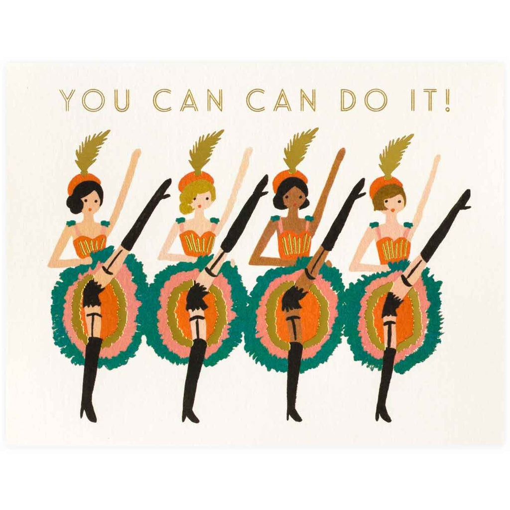 You Can Do It Card By Rifle Paper Co. - 1