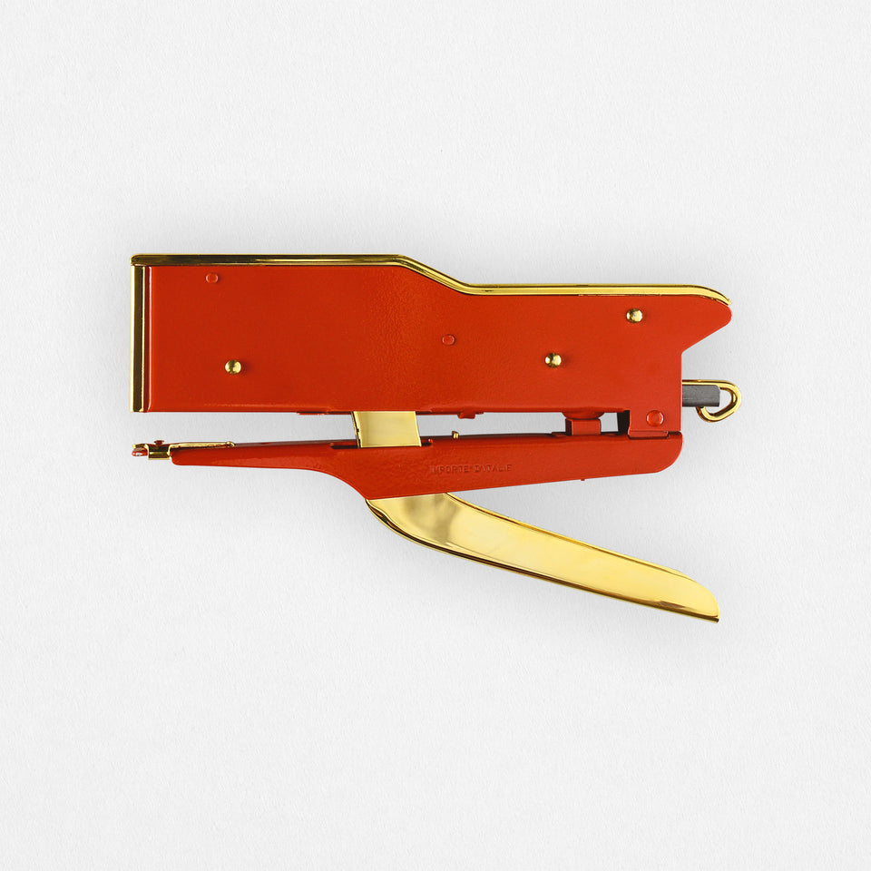 Zenith 548 Stapler Red & Gold