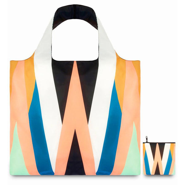 Zig Zag Reusable Bag By LOQI - 1