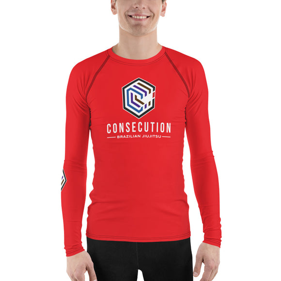 Consecution C Rash Guard Red