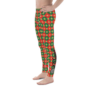 "Gift Wrapped ""New Socks"" Men's Leggings"