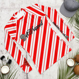 "Gift Wrapped ""Candy Cane Calf Crush"" Rash Guard"
