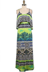 Tribal Maxi Dress - Haute Stuff Boutique