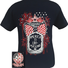 America Is UH-Mason T-Shirt by Girlie Girl Originals - Haute Stuff Boutique