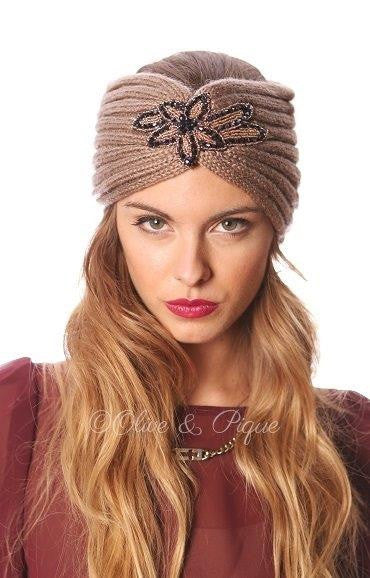 Bling Ribbed Headwrap - Haute Stuff Boutique