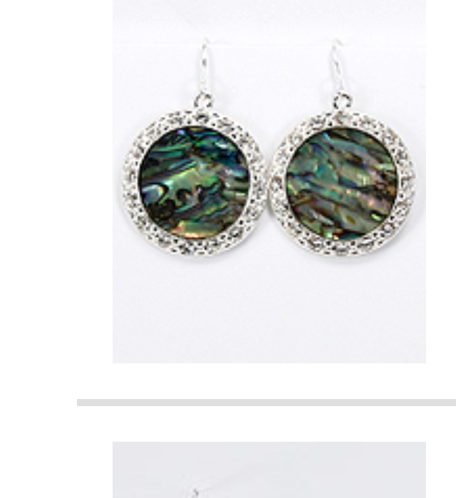 Abalone Earring - Haute Stuff Boutique