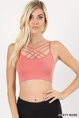 Criss Cross Bralette - Haute Stuff Boutique